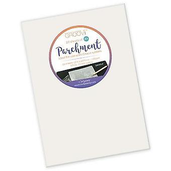 Groovi Parchment Paper A4 20 Sheets