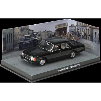 GAZ Volga Diecast Model auto van James Bond GoldenEye