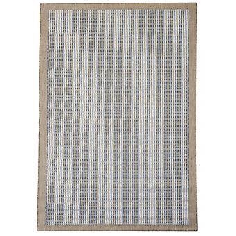 Quadrotte per terrazza / balcone blu Essentials chrome blu 200 / 290 cm tappeto indoor / outdoor - per interni ed esterni