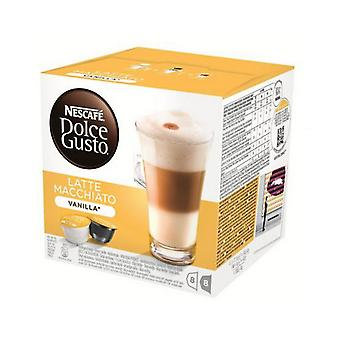 Cápsulas de Café Nescafé Dolce Gusto 70676 Latte Macchiato (16 uds) Vainilla