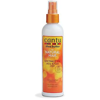 Cantu Natural Coconut Oil Shine & Hold Mist 237 ml
