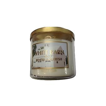 Bad & Body Works hvit barn no. 3 Jasmine frisk luft & touch Candle 14,5 oz/411 g