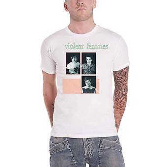 Violent Femmes T Shirt Vintage Band Photo new Official Mens White