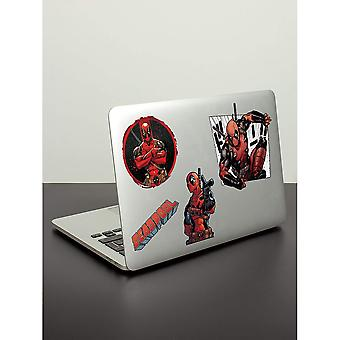 Deadpool officiel ordinateur portable MacBook autocollants (Pack de 29)