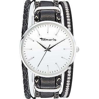Tamaris - Wristwatch - Women - TW111 - silver, black