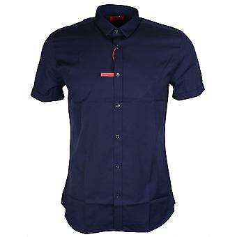 Hugo Boss Empson Extra Slim Fit Navy Shirt