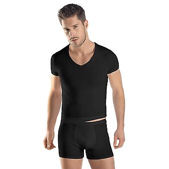 Hanro Mens Underwear Micro Touch T-shirt 073108