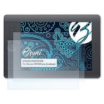 ブルーニ 2x スクリーン プロテクター ワコム INTUOS プロ (ミディアム) 保護フィルムと互換性