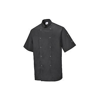 Portwest cumbria chefs chaqueta c733