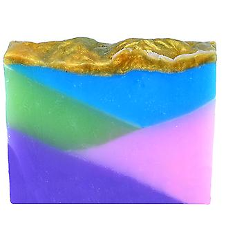 Bomb Cosmetics Handmade Vegetable Oil Soap - Rock Slide - Pleasant Delicate Fragrance with Coconut 100g