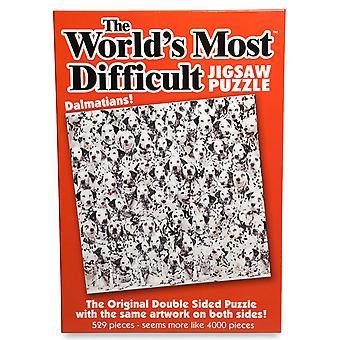 World's Most Difficult Jigsaw Puzzle - Dalmatians (529 Pieces) - PLG6280