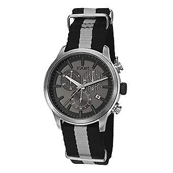 Joop! Richard JP101751001-mens wristwatch, multicolored fabric strap