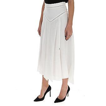 Isabel Marant ÉToile Ju111920p025e20wh Women's White Cotton Skirt