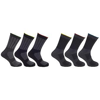 Storm Ridge Mens Hardwearing Work Socks (3 Pairs)