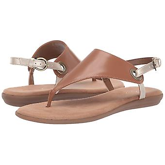 Aerosoles - Women's in Conchlusion Sandal - Leather Toe Strap Summer Flat Sho...