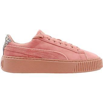 بوما النساء 366497-02 المخملية المنخفضة أعلى الدانتيل حتى أحذية رياضية أزياء