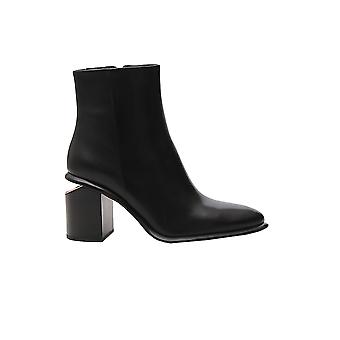 Alexander Wang 3049t0033l001 Women's Black Leather Ankle Boots