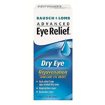 Bausch + lomb advanced eye relief lubricant eye drops, dry eye, 1 oz