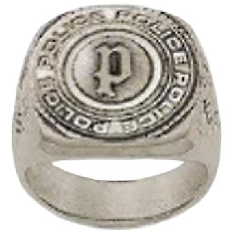 Police Man Stainless Steel Ring Size 22 PJ.26577RSE-02-62