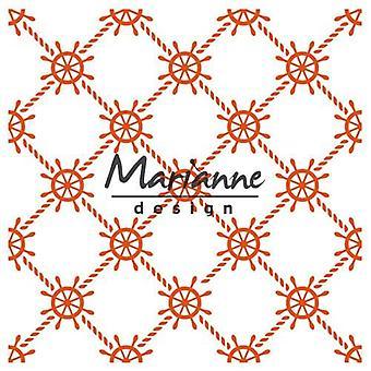 Marianne Design Embossing Folder - Nautisch