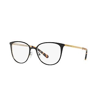 Michael Kors Lil MK3017 1187 Matte Black-Gold-Tone Glasses