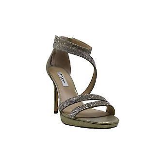 Women's Nina Alissa Sandal, Size 10 M - Metallic