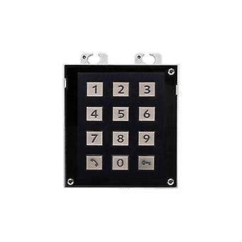 2N Ip Verso Keypad Module Black