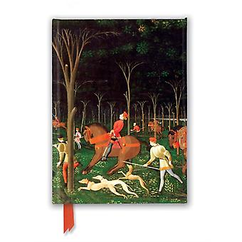 Ashmolean Museum The Hunt by Paolo Uccello Foiled Journal by Created by Flame Tree Studio