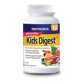 Enzymedica Kids Digest Chewable Tabs 60 (11010)