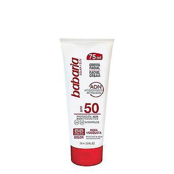 Facial Cream Adn Bb Cream Babaria SPF 50 (75 ml)