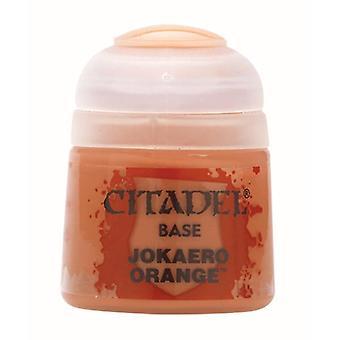 Jokaero Orange, Citadel Paint - Base, Warhammer 40,000/Age of Sigmar