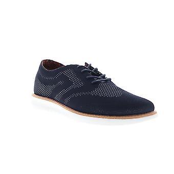 Ben Sherman Nu Casual Wingtip  Mens Blue Mesh Plain Toe Oxfords Shoes