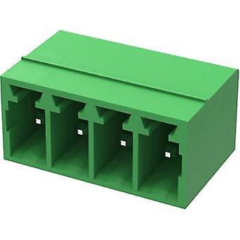 Degson Socket enclosure - PCB 15EDGRC Total number of pins 9 Contact spacing: 3.50 mm 15EDGRC-3.5-09P-14-00AH 1 pc(s)