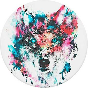 POPSOCKETS Wolf Mobile phone stand