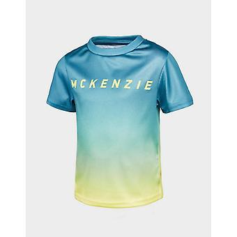 Nya McKenzie Kids' Mini Batixa T-shirt Blå
