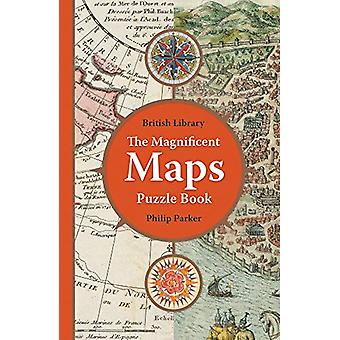 The British Library Magnificent Maps Puzzle Book by Philip Parker - 9