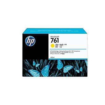 Hp 761 400Ml Yellow Ink Cartridge