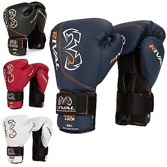 RIVAL Boxing RB1 Ultra Bag Gloves - 12 oz - Navy