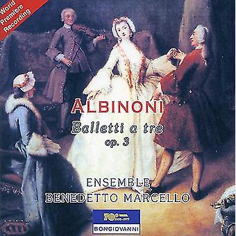 T. Albinoni - Albinoni: Balletti a Tre, Op. 3 [CD] USA import