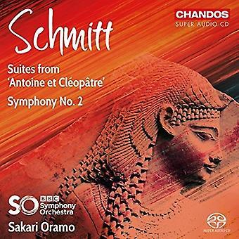 Schmitt / Oramo - Symphony 2 [SACD] USA import
