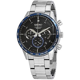 Seiko Quartz Watch SSB357P1 - Chronographe à quartz gents en acier inoxydable
