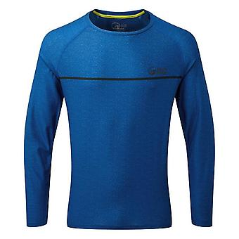 North Ridge Men's Pave Active Long Sleeve Top Blue