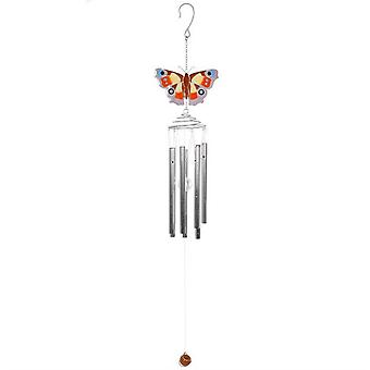 Peacock Butterfly Windchime