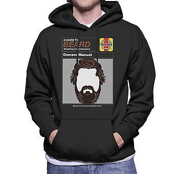 Haynes Beard Workshop Manual Men's Hooded Sweatshirt
