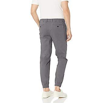 Essentials Men's Slim-Fit Jogger Hose, dunkelgrau, XX-Large