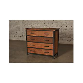 Deco4yourhome Teak Dresser with Loading
