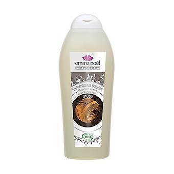 Shower shampoo Musc Cosmebio 750 ml