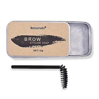 Waterproof Eyebrow Styling Soap And Brush