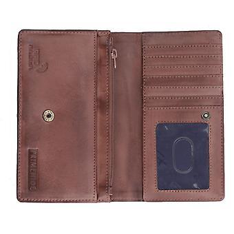 Primehide Femme Cuir Matinee Purse RFID Blocage Porte-carte Portefeuille 675