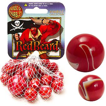 Red Beard Netted Marble Collection - Cracker Filler Cadeau